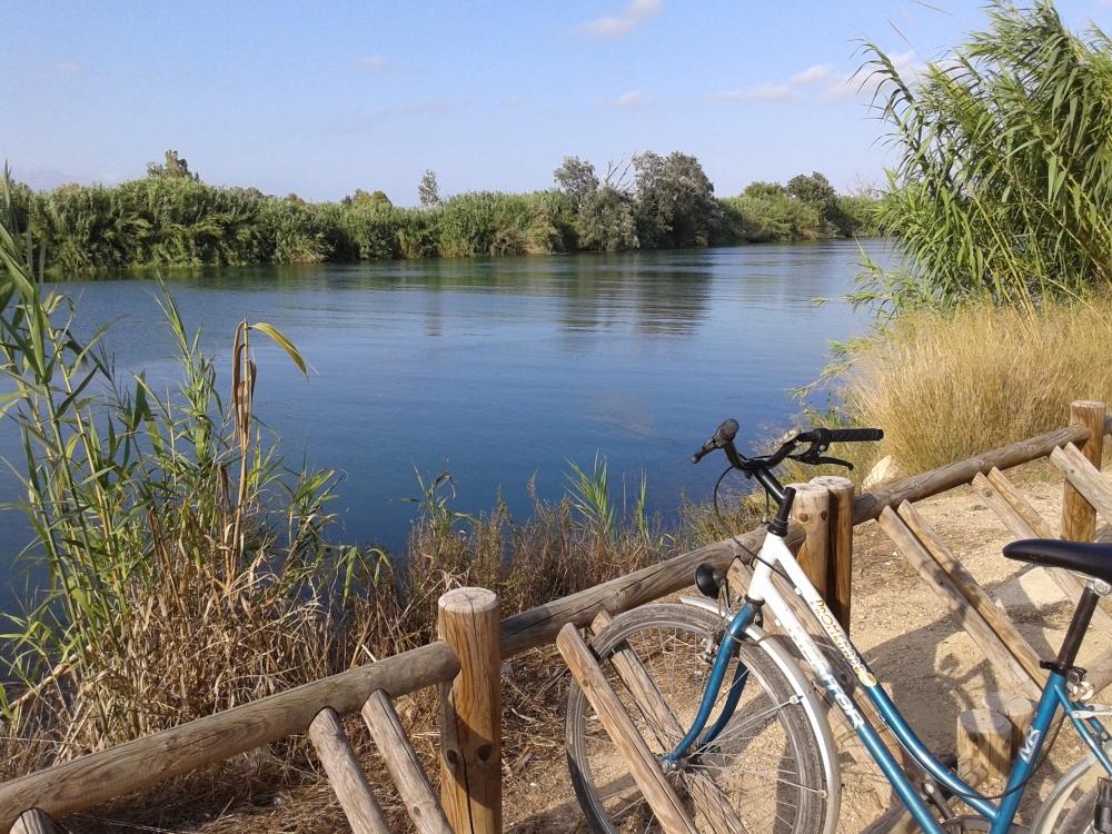 Cami de Sirga, bicicleta pel Delta de l'Ebre