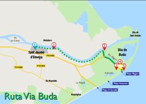 Ruta a l'Illa de Buda
