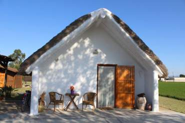Barraca Vilbor allotjament ecoturisme